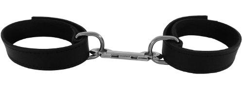 Bondage-Leder-Handfesseln mit Klettverschluss