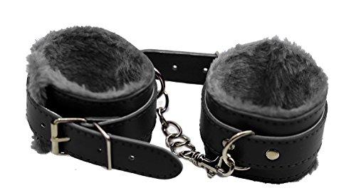 Handschellen aus PU-Leder-Pelz | Handgelenk-Fessel