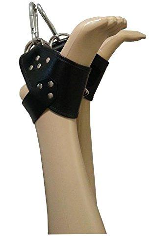 Fuß-Hängefesseln aus Leder zum Aufhängen an den Füßen