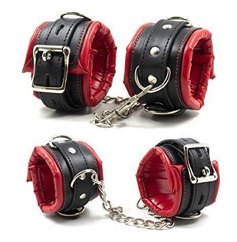 Bondage Set – Handschellen und Fußfesseln